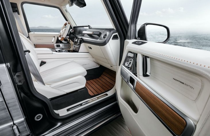 Mercedes G63 Yatching limited edition