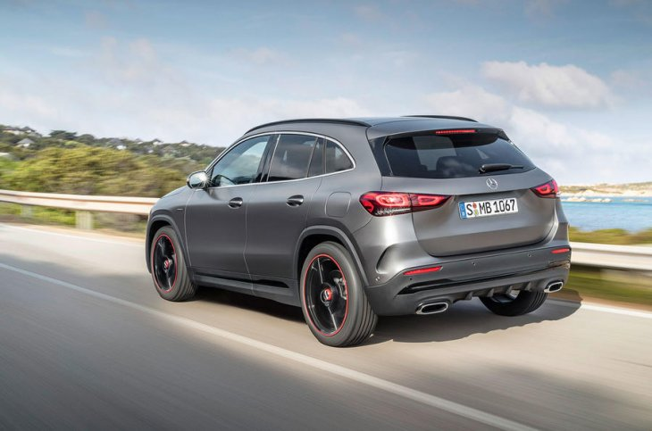 Extremely popular Mercedes GLA has a new look