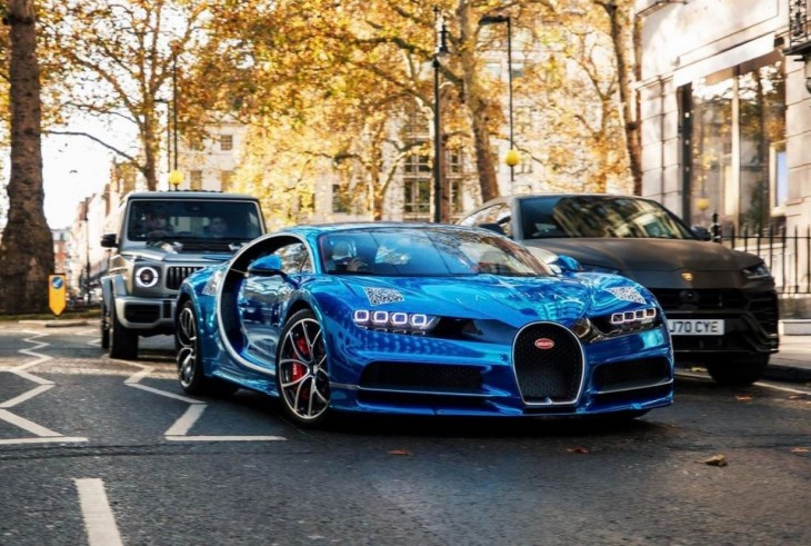 25 year old's $3million Bugatti gets a makeover