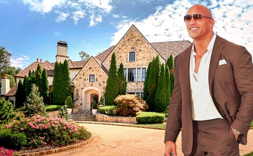 The Rock lists his incredible home for 2mill less than purchase price