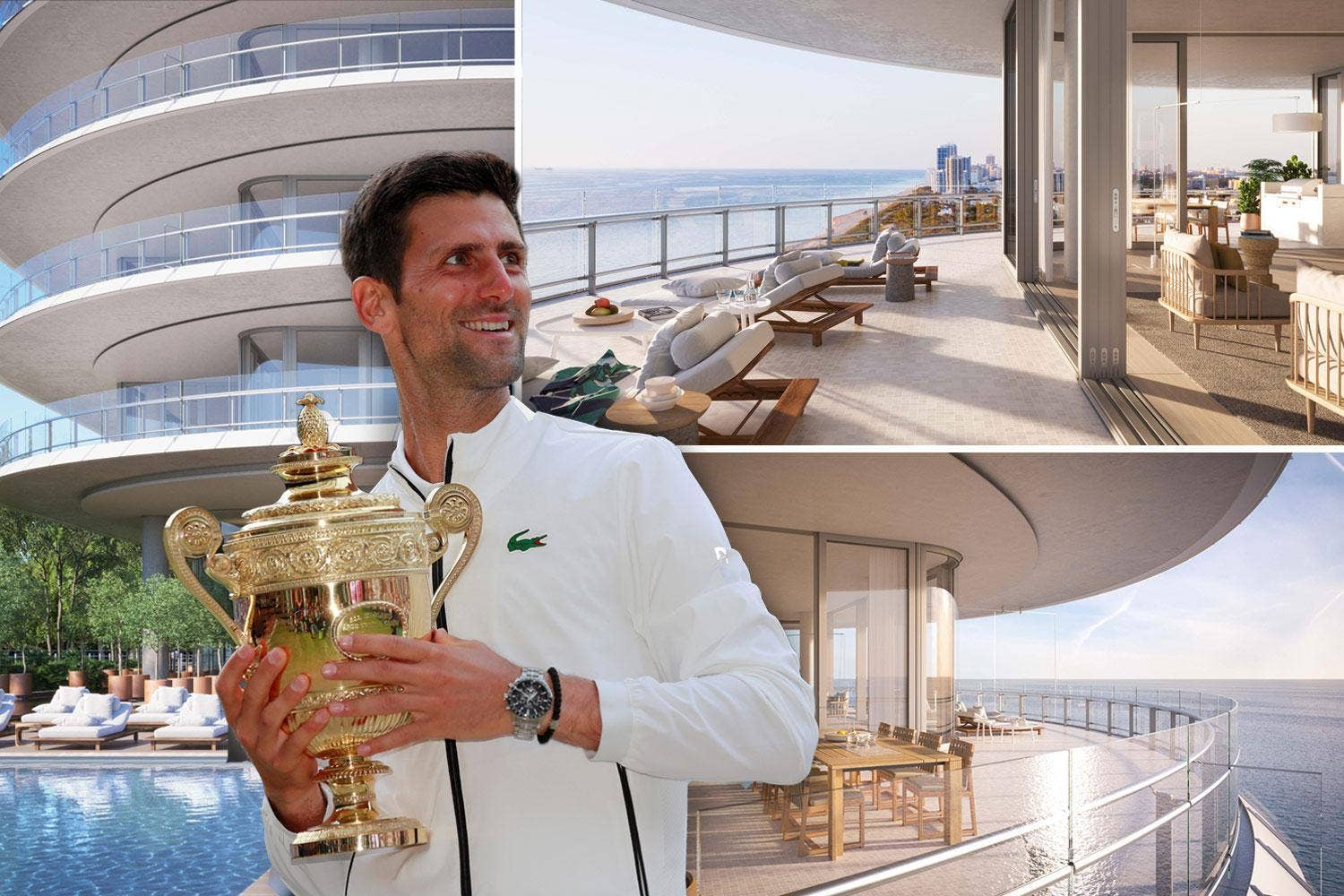 Novak Djokovic's $6M for Piano-designed condo