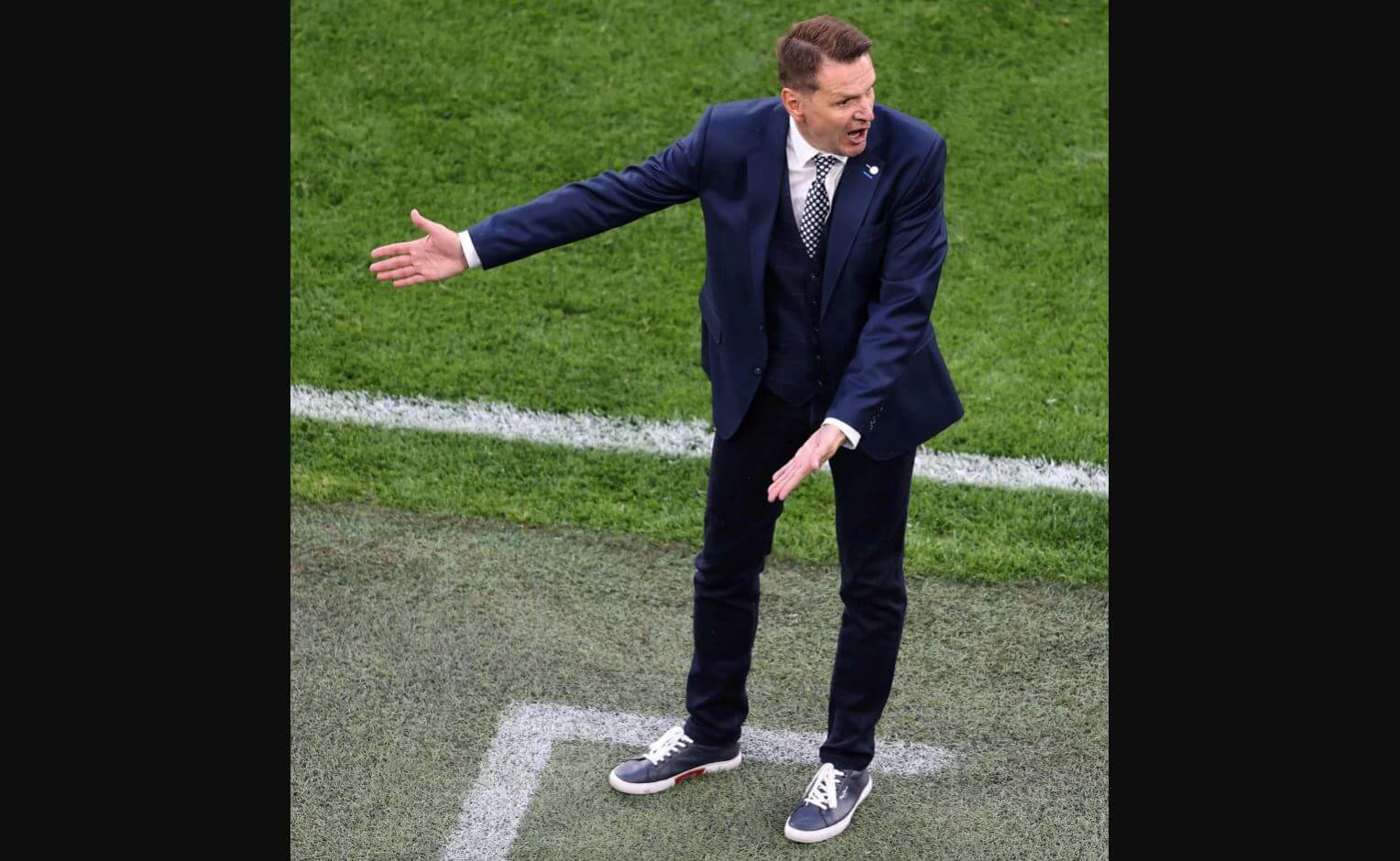 Who are the best dressed managers of the Euros?