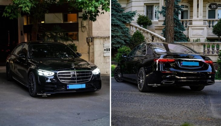 Newer, more expensive cars seen in our homeland