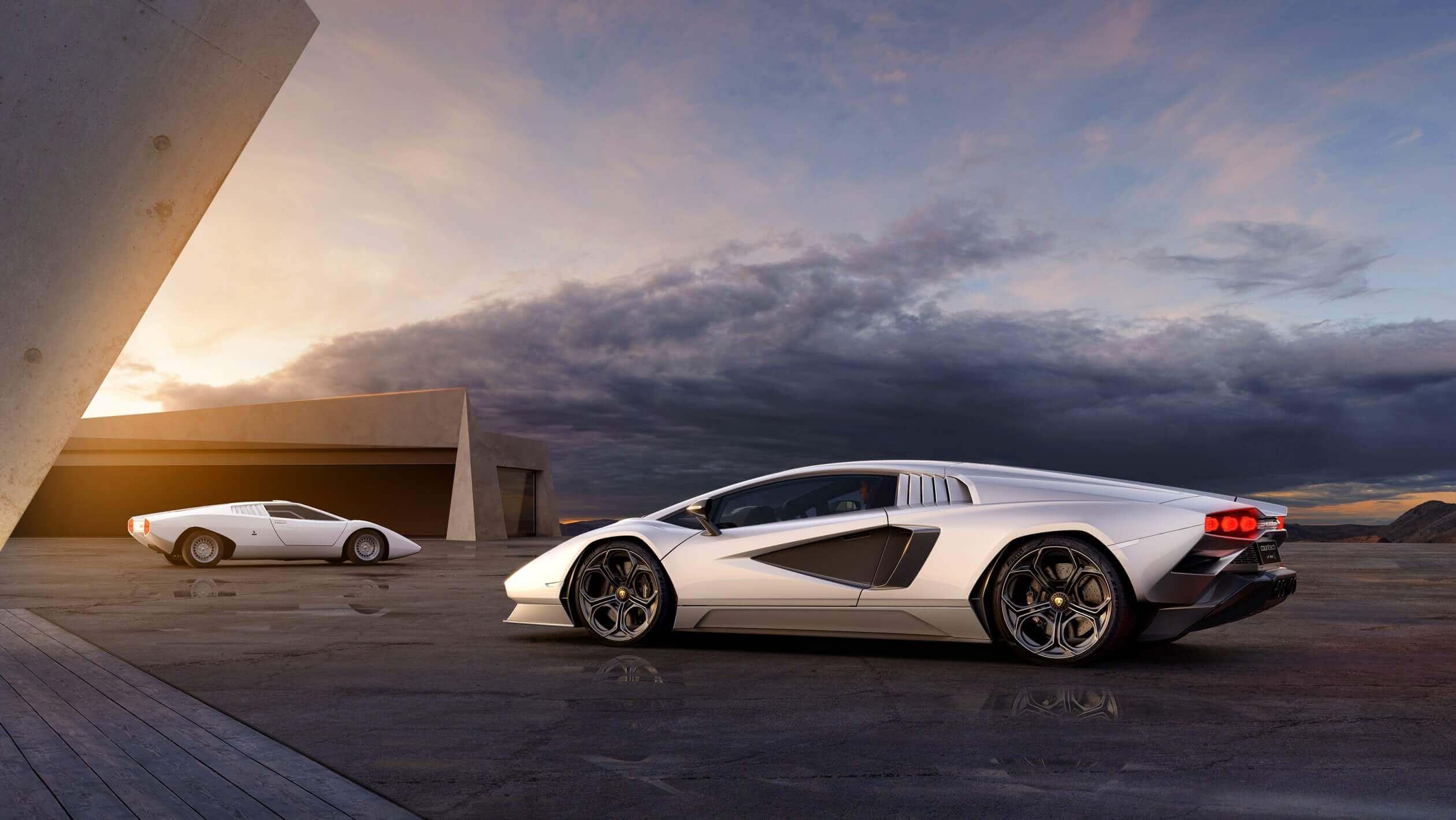 Lamborghini remake classic Countach model for 2022