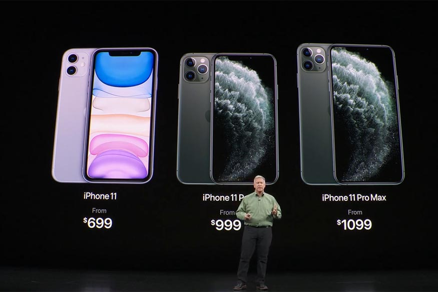 Take a first look at the new iPhone 11