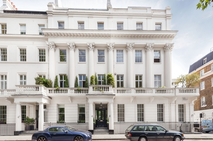 Most expensive roads in London to buy