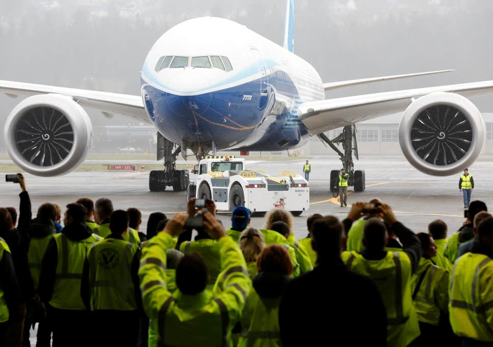 Boeing's huge new airliner finally takes flight