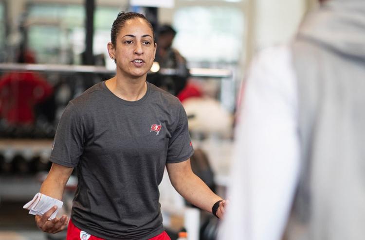 Female NFL conditioning coach Maral Javadifar