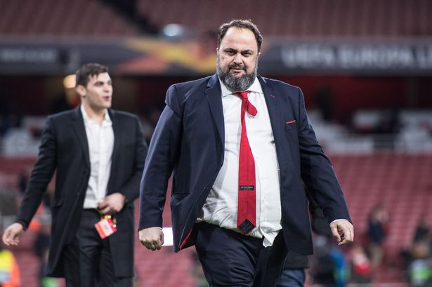 English Football club owner tests positive for virus