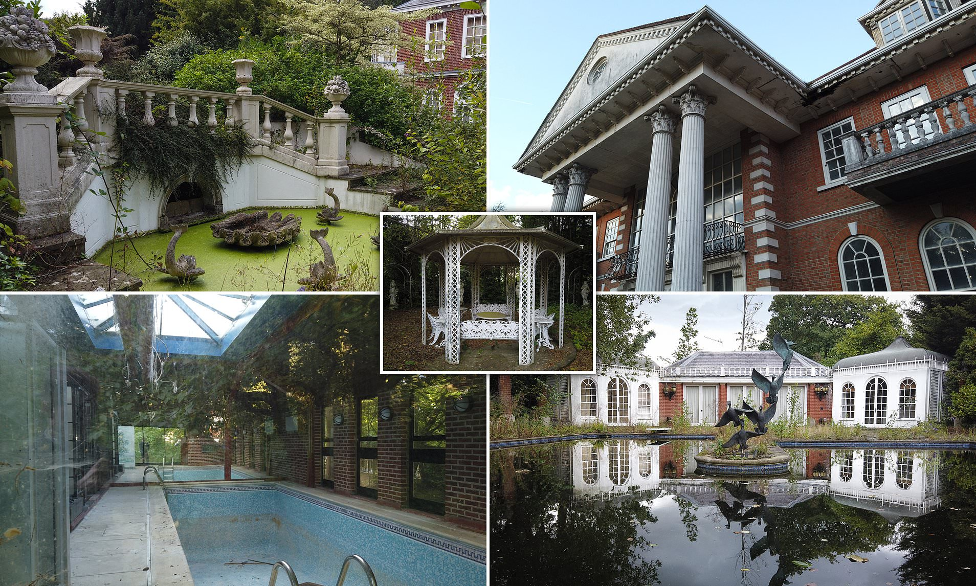 """London's """"Billionaire's Row"""" and it's abandoned mansions"""