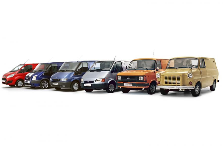 History of the Ford Transit van