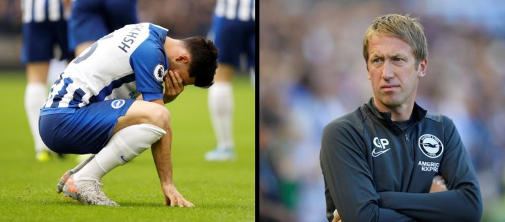 Jahanbakhsh's future at Brighton looks to be over
