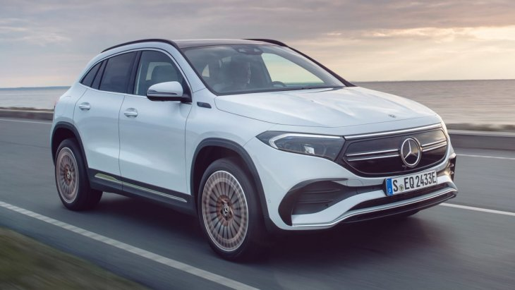 Stylish new all-electric and affordable Mercedes