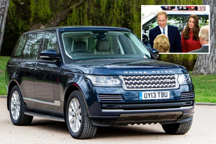 Prince William and Kate's Range Rover to go on auction