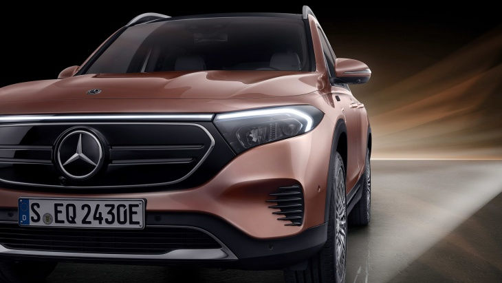 Impressive, brand-new and all-electric Mercedes SUV